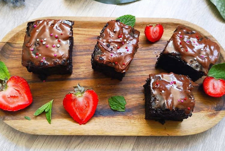 Zuchini Brownies
