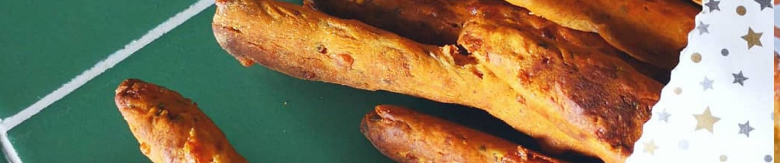 Italian Herb Breadsticks