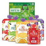 Piccolo Organic Baby Food Selection Packs