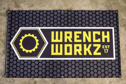 WrenchWorkz Shop Banner - Bolt Design