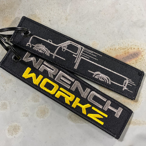 WrenchWorkz Truck Key Tag