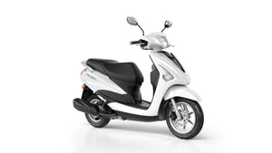 Yamaha Delight White Scooters