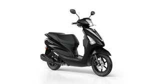 Yamaha Delight Black Scooters