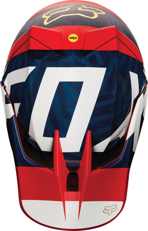 Fox V3 Preest Motocross Helmet