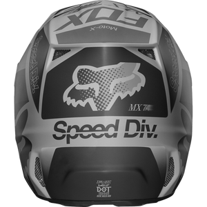 Fox V2 Murc Motocross Helmet - Black