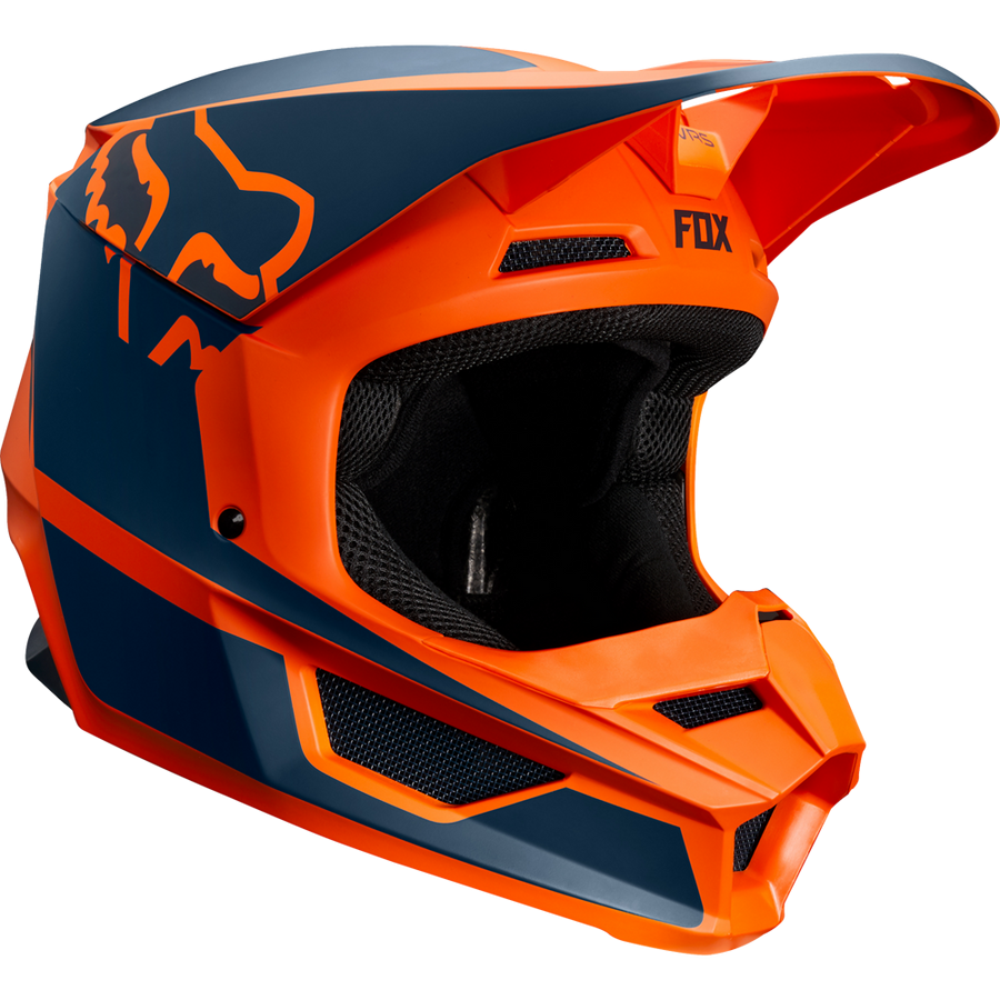 Fox V1 Przm Motocross Helmet - Orange