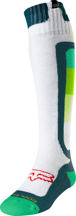 Fox Coolmax Thin Murc Green Sock