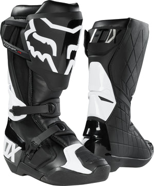 Fox Comp R Motocross Boots - Black