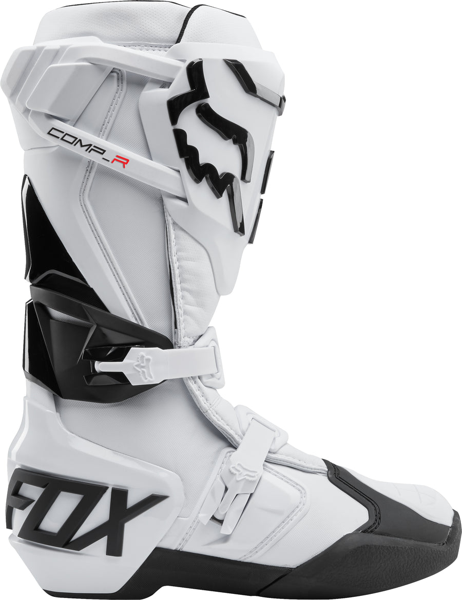 Fox Comp R Motocross Boots - White