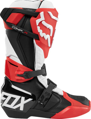 Fox Comp R Motocross Boots - Red