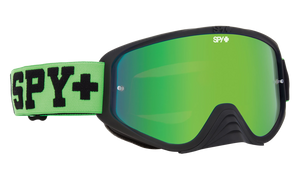 Spy Woot Race Goggles - Jersey Green