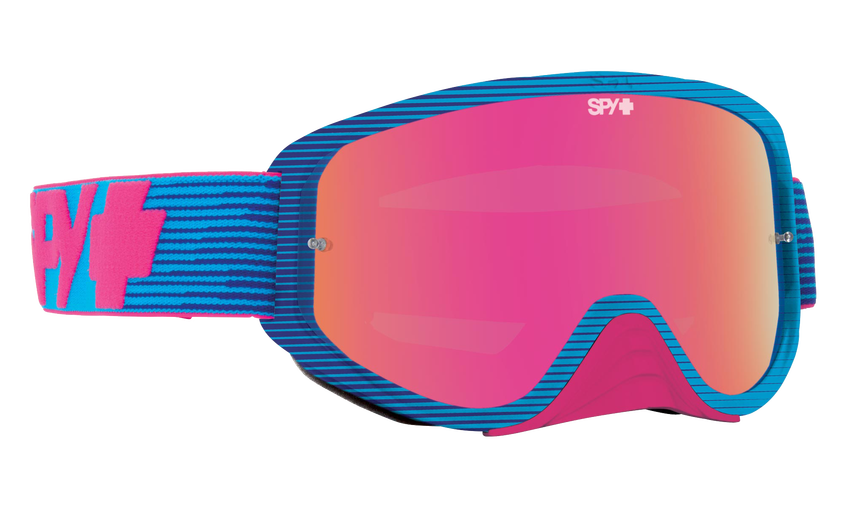 Spy Woot Race Goggles - Pink Flash