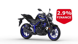 Yamaha Mt-03 Blue Hyper Naked