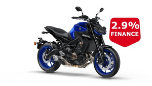 Yamaha Mt-09 Blue Hyper Naked