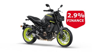 Yamaha Mt-09 Grey Hyper Naked