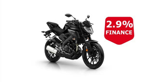 Yamaha Mt-125 Black Hyper Naked