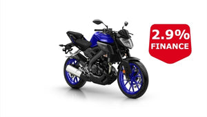 Yamaha Mt-125 Blue Hyper Naked