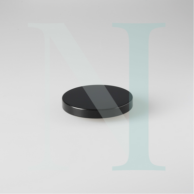 Medium Cambridge Metal Lid Black
