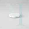 Medium Cambridge Metal Lid White