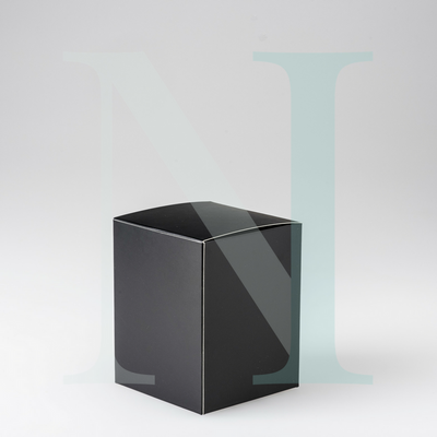 Large Danube Candle Box Black, no Window
