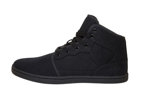 Organic Canvas Casual/Sport High Top Black/Black