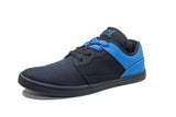 BLACK/BLUE LOW TOPS
