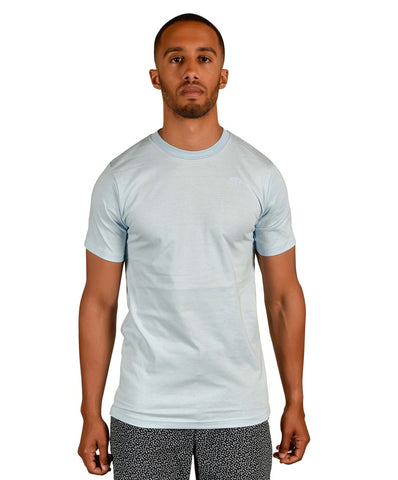 Light Blue Men's Organic Tee