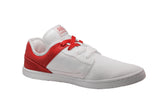 Organic Canvas Casual/Sport Low Top White/Red