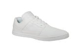 ALL WHITE LOW TOPS