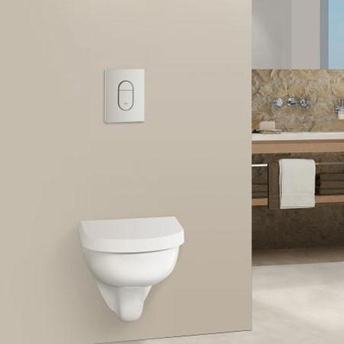 Wall Hung Toilet - Concealed Cisterns