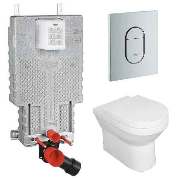 Floor Mount Toilet Suites - Concealed Cisterns