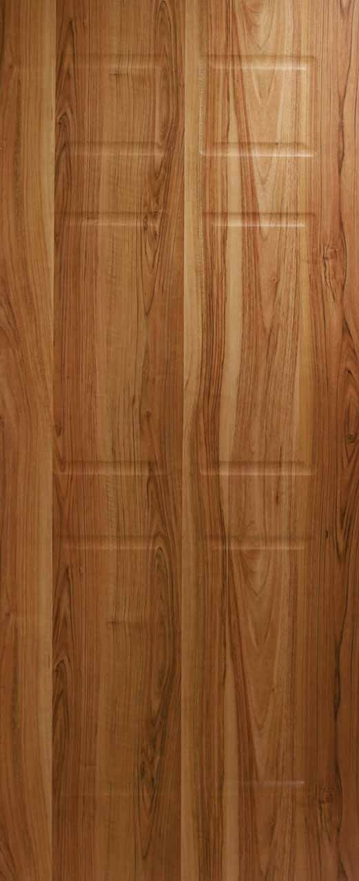 6 Panel Shallow Moulded Door - Walnut