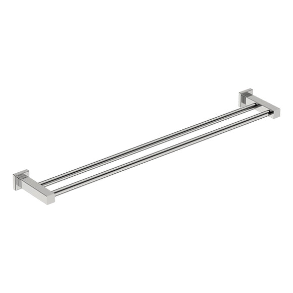 8585 Double Towel Rail - Polished - Stainless Steel - Bathroom Butler