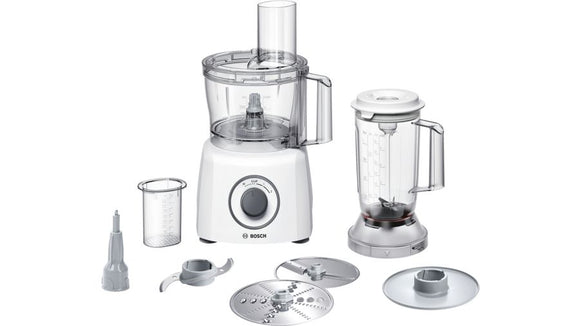 BOSCH Food Processor / Kitchen Machine MultiTalent 3 - 800W - White - MCM3200W