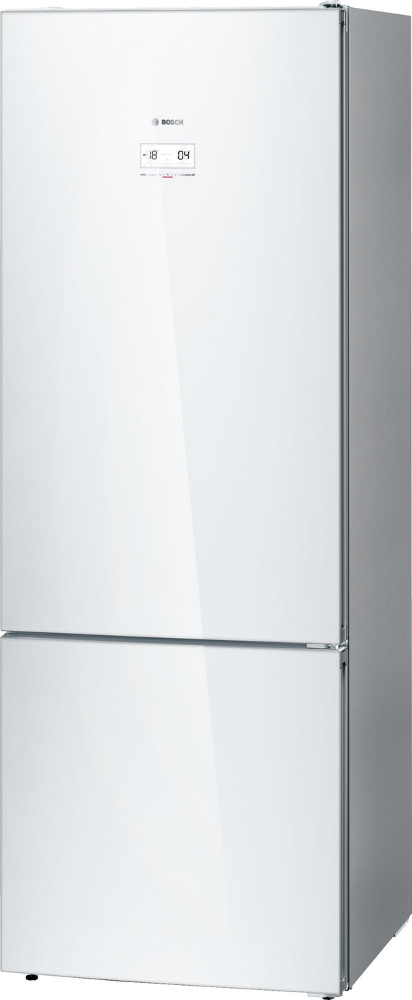 Bosch Freestanding Fridge-freezer  - White - Serie 6 - KGN56LW30N