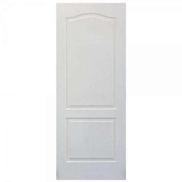 Interior Door - 2 Panel Arch - Deep Moulded - Cape Dutch