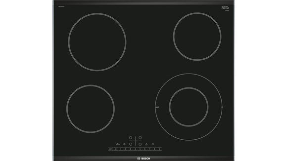 BOSCH 60cm Touch Control Ceramic Hob - Electric - Black - Serie 6 - PKF675FP1E