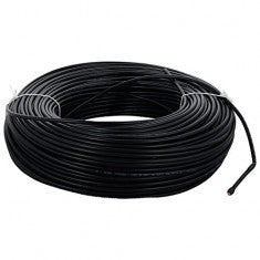 Single Core House Wire - Black - 1.5mm²