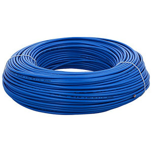 Single Core House Wire - Blue - 4mm²