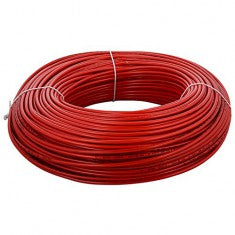 Single Core House Wire - Red - 4mm²