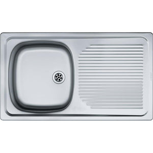 "Trendline 711 ""Drop On"" Kitchen Sink - 1000mm x 460mm"