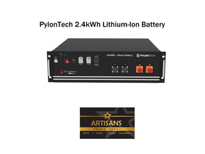 Pylontech 2.4kWh Lithium-Ion Solar Battery - US2000