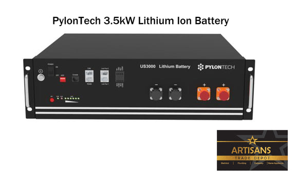 Pylontech 3.5kWh Lithium-Ion Solar Battery - US3000