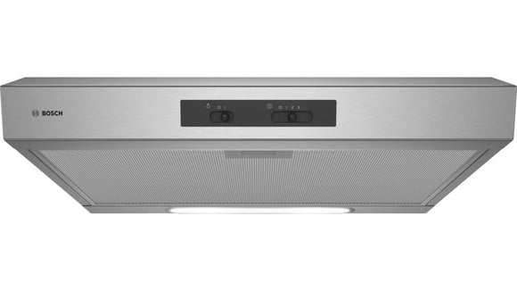 BOSCH 600 mm Built-in Extractor Hood Stainless steel  - Serie 2 - DHU635HZA