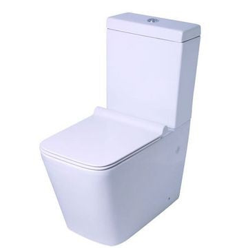 VAAL Refine Close-Couple Toilet Suite - Top Flush