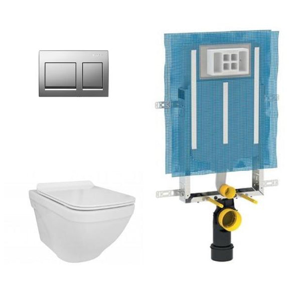 Flow / Verdi Wall Hung Toilet - Concealed Cistern