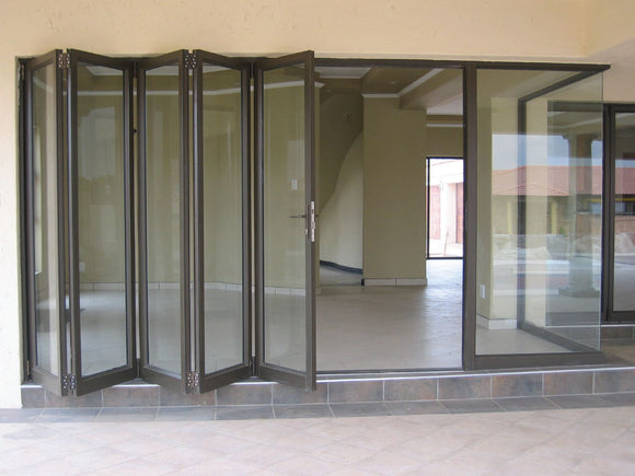 Sliding Folding Doors - VistaFold - Gloss White - 5 Panel