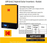 KODAK Solar Off-Grid Inverter King with UPS 3kW 24V - OG-PLUS3.24