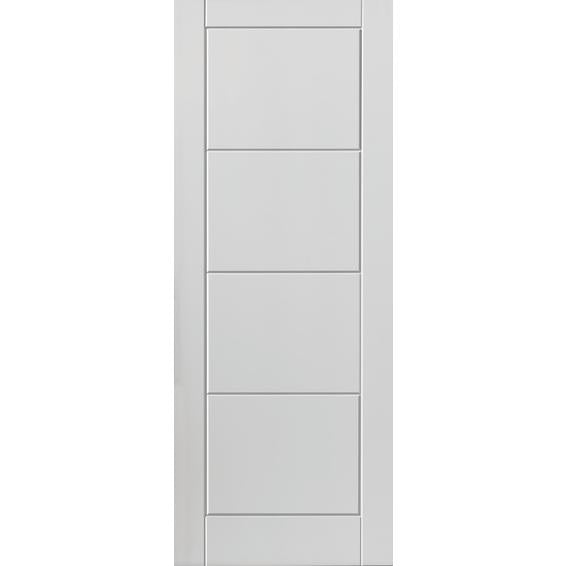 DOORTEC Willowton Interior Door - Deep Moulded - 4 Panel Ladder