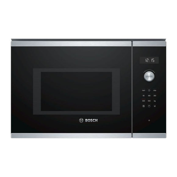 BOSCH 600 mm Built-In Microwave with Grill  - Serie 6 - BEL554MS0